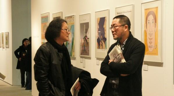 CAFA Xu Bing with Wang Huangsheng