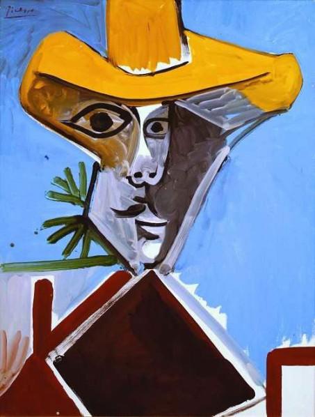ART HK 11 Pablo Picasso Buste d'Hommea