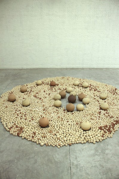 All Matters Are Visible 02 by Yang Maoyuan at his studio; Pottery, 2011
