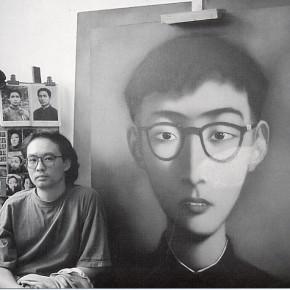 Portrait of Zhang Xiaogang