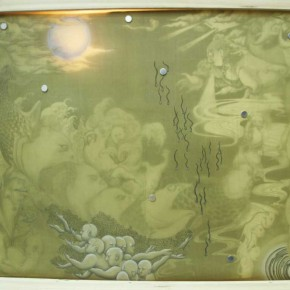Script of The Absurd Story by Zhao Xiaoke from Muraal Painting Department 290x290 - Selected Works at the Graduation Exhibition of the Mural Painting Department, CAFA 2011