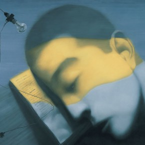 Zhang Xiaogang, Amnesia and Memory No.7, 2007; Oil on canvas, 250 x 300 cm
