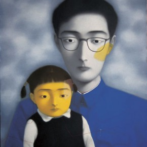 Zhang Xiaogang, Bloodline-Big Family Comrades No.12, 1996;Oil on canvas, 190 x 150 cm
