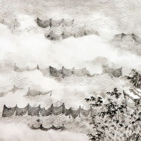 30203Travels at Lingchuan by Li Xia 290x290 - Selected Works at the Graduation Exhibition of School of Chinese Painting,CAFA 2011