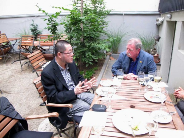 Discussions with Mr. Michel Berger