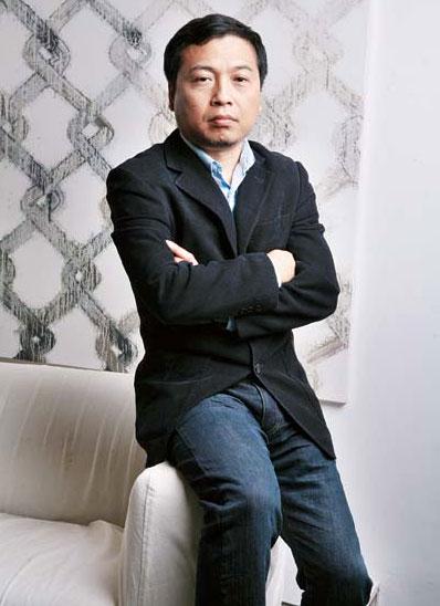 Hung Du at His Office