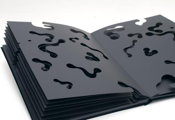 Notations of Time-Black Book,60x50x4cm,2010