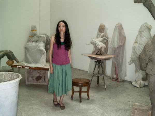 Xiang Jing's at Her Studio