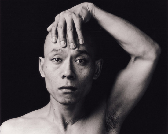 Skin 1997, Performance; Zhang Huan