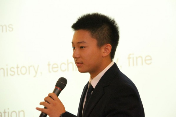 "Chen Tianchan of Group III at ""Enlighten My Future!"""