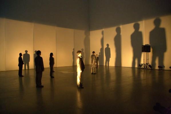 Time·Theatre·Exhibition by Wang Jianwei; Today Art Museum, Beijing, 2009
