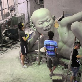 Chen Wenling's Sun River Studio in 2010-10