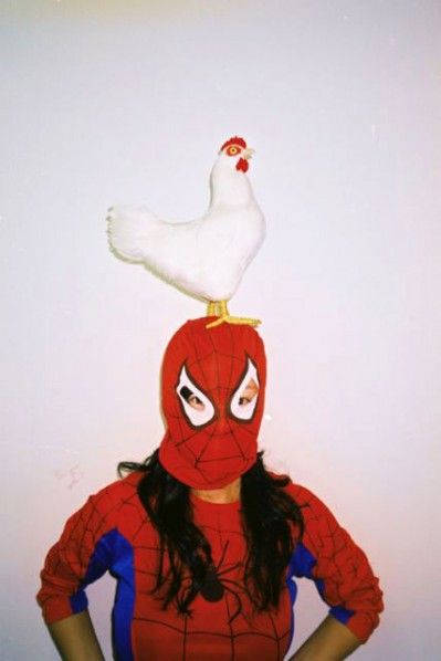 Cock and Spider-Girl(Series: works with no series) ARTIST: Lin Zhipeng