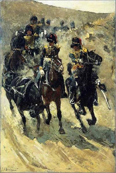 George Breitner,  Horse Artillery Force, 1885 - 1886