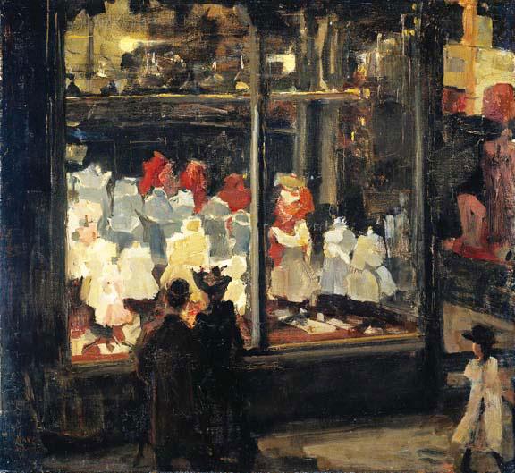 Isaac Israëls,  Shop Windows, 1896