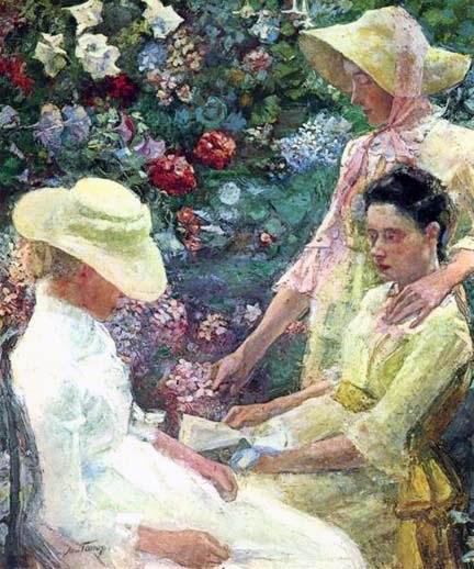 Jan Toorop  Trio Fleuri  1886
