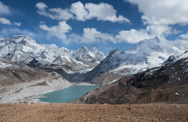 Kyetrak Glacier, northern slope of Cho Oyu, Tibetan Autonomous Region, China, 2009; Courtesy of David Breashears