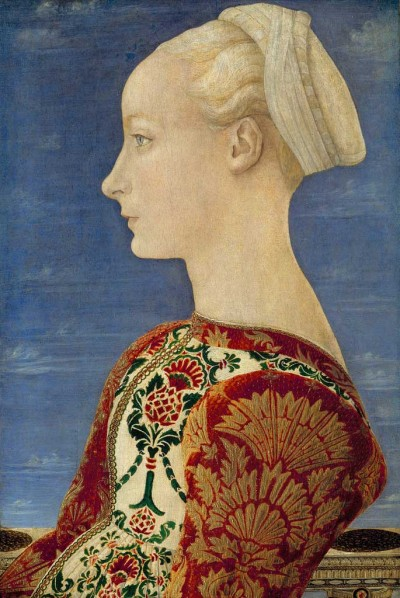 Pollaiuolo--Portrait of a Lady Berlin GG
