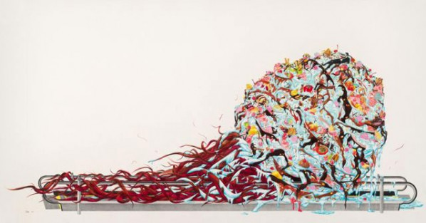 Sweet Temptation by Zhao Na, 2011; painting, pencil, colored pencil, paper