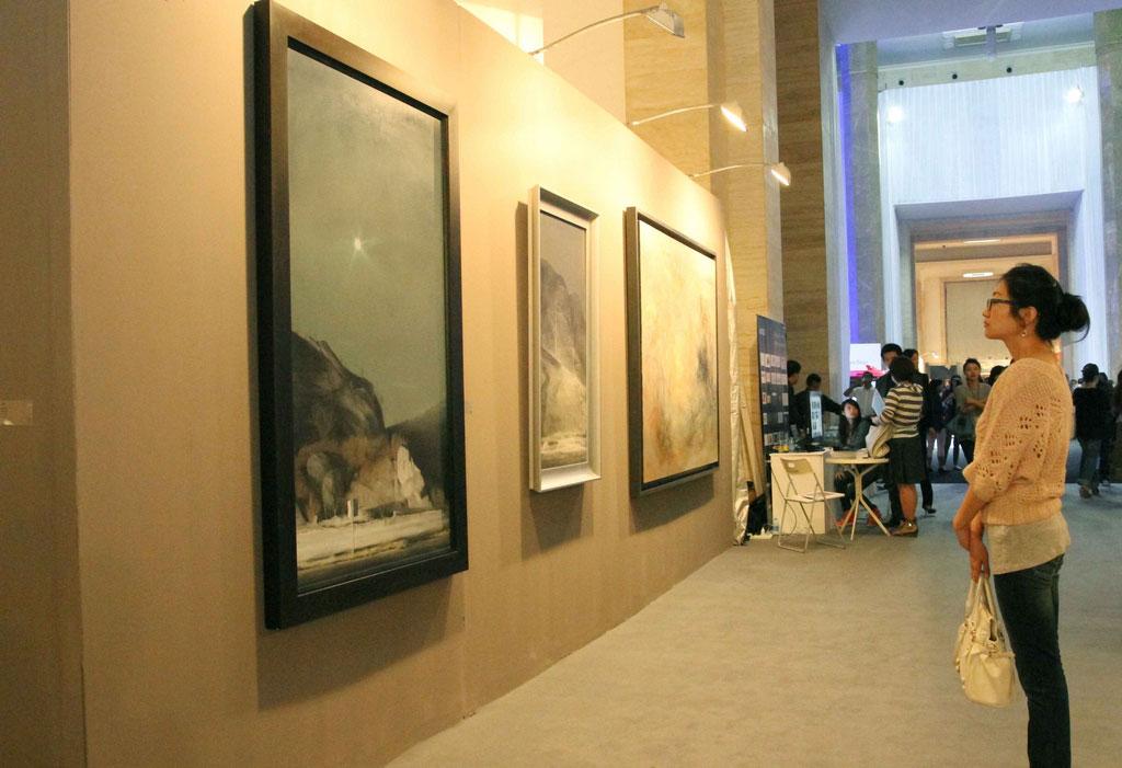 The Art Beijing 2011 Fine Art Fair On Show At The National
