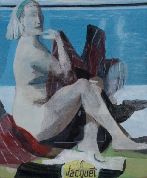 Untitled, 55×46cm; Oil on canvas, 2011
