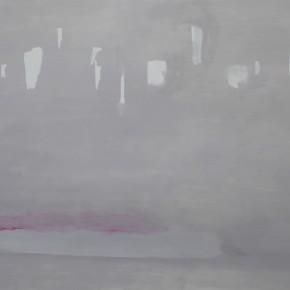 """I've Got Something""-- Zan Jbai Solo Exhibition; reflections, 130x170"