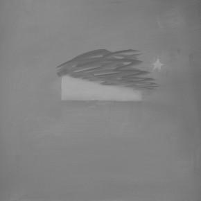 """I've Got Something""-- Zan Jbai Solo Exhibition; Moonlight, 40x45"