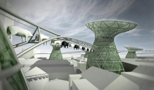 Ecotopia Urban Design of Ye Cheng