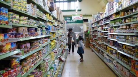 Supermarket, Cheetham Hill, J Chuhan, 2011
