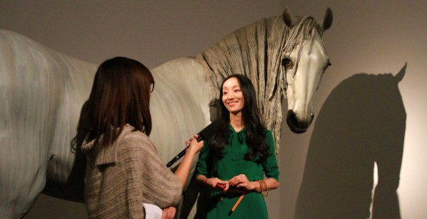 Xiang Jing in the interview with CAFA ART INFO