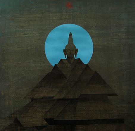 """Zen in Wang Shui-bo's Solo Exhibition named """"Zen and Revolution"""""""