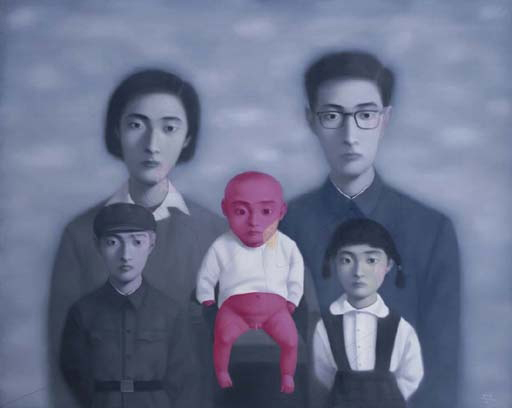 Zhang Xiaogang's Family Series (1995)