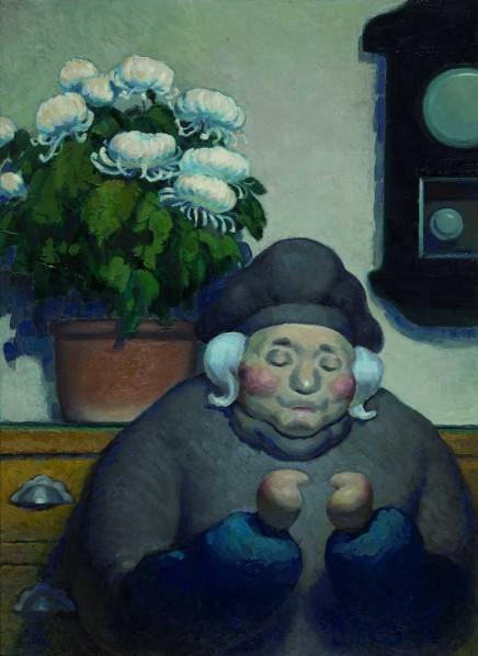 Wang Xingwei-Untitled (old lady No. 8), 2011