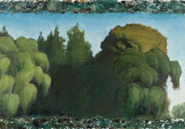 Wang Xingwei-Big Tree by the Film Museum No. 2, 2011