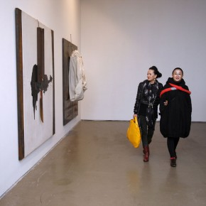 At the exhibition hall of Translating China 03; Photo: Hu Zhiheng/ CAFA ART INFO