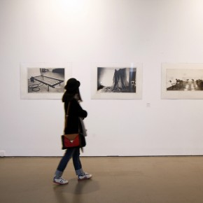 At the exhibition hall of Translating China 11; Photo: Hu Zhiheng/ CAFA ART INFO