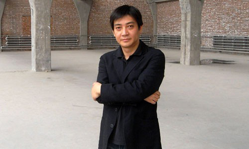 Leng Lin boasts of being an art pioneer in China.
