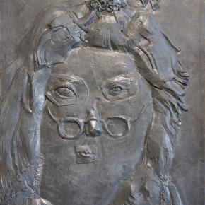 New Citizen Relief Series No.1, 2011; resin, 128x118cm