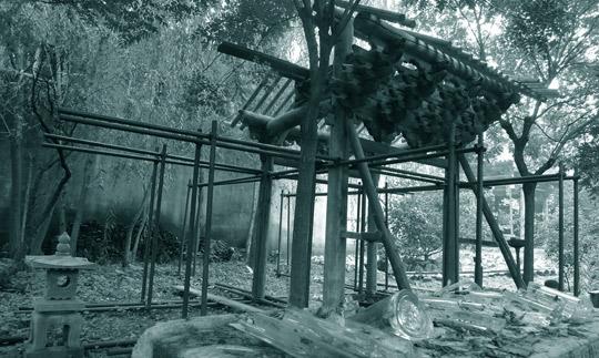 No.3(Series, Demolished Pavilion)