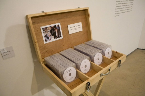 Pirate My Own Work - Free Donation Project by Chen Chieh-jen; Performance Art,2007 – Present