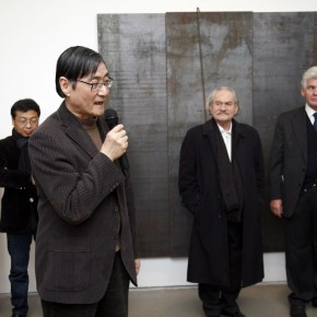 President of CAFA, Pan Gongkai made his speech at the opening ceremony. Photo: Hu Zhiheng/ CAFA ART INFO