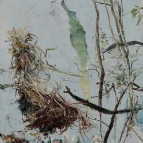 Tales in Weeds by Tu Hongtao, 2010; Oil on Canvas, 270×210cm