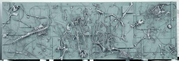 The Grey Sameness by Lin Tianmiao