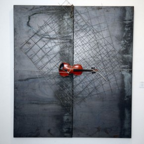 Translating China –Solo Exhibition of Mr. Jannis Kounellis 02; Photo: Hu Zhiheng/ CAFA ART INFO