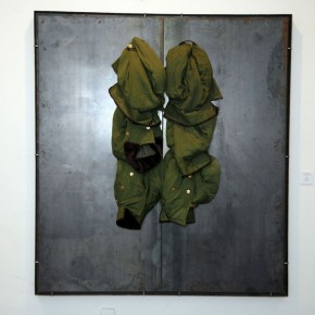 Translating China –Solo Exhibition of Mr. Jannis Kounellis 03; Photo: Hu Zhiheng/ CAFA ART INFO