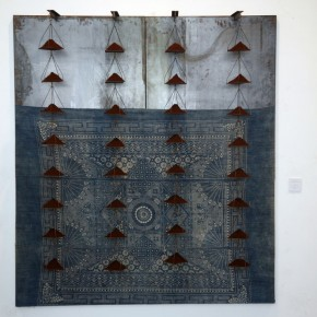 Translating China –Solo Exhibition of Mr. Jannis Kounellis 04; Photo: Hu Zhiheng/ CAFA ART INFO