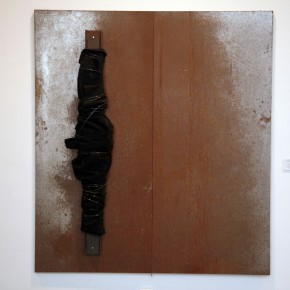 Translating China –Solo Exhibition of Mr. Jannis Kounellis 06; Photo: Hu Zhiheng/ CAFA ART INFO