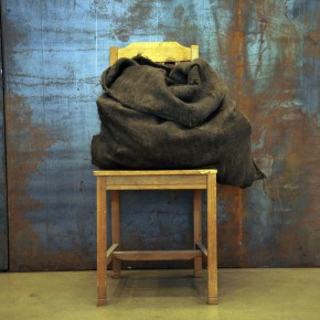 Translating China –Solo Exhibition of Mr. Jannis Kounellis 12; Photo: Hu Zhiheng/ CAFA ART INFO