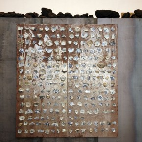Translating China –Solo Exhibition of Mr. Jannis Kounellis 13; Photo: Hu Zhiheng/ CAFA ART INFO