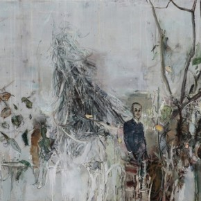 Under the Sense of Your Words by Tu Hongtao, 2011; Oil on Canvas, 145×180cm